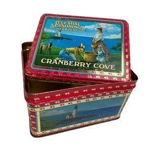 Celestial Seasonings Vintage Herb Tea Metal Box